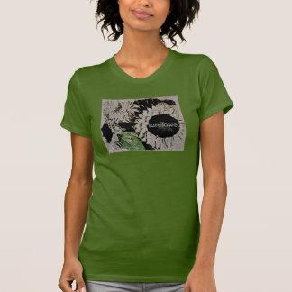 Sunflower Print Women's T-Shirt