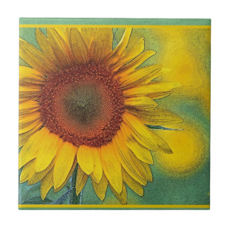 Sunflower Products Small Square Tile