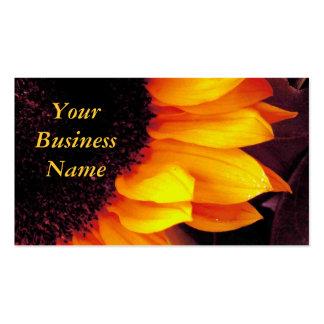 Sunflower - Profile Business Cards
