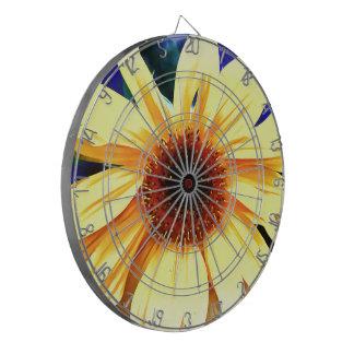 Sunflower ProfiledInk Dart Board