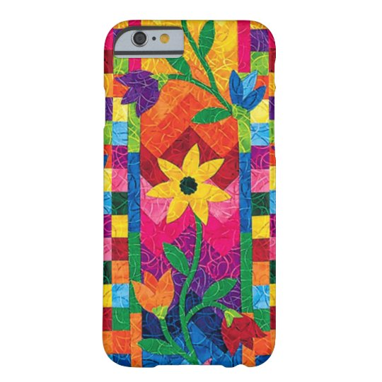 Sunflower Quilt iPhone 6 Case