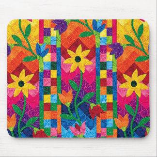Sunflower Quilt Mousepad