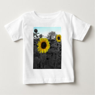 Sunflower Recolored Baby T-Shirt