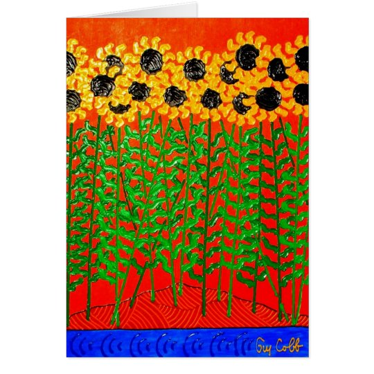 Sunflower River Blues Card
