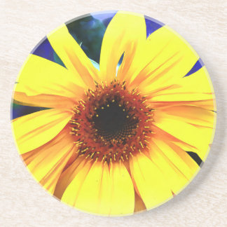 Sunflower Sandstone Drink Coaster