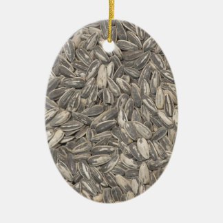 Sunflower Seeds Christmas Ornament