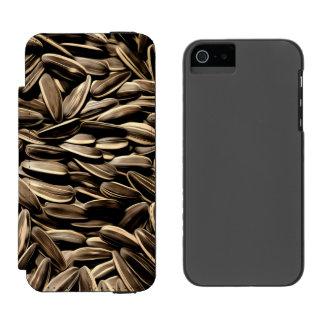Sunflower Seeds Cool Fun Incipio Watson™ iPhone 5 Wallet Case