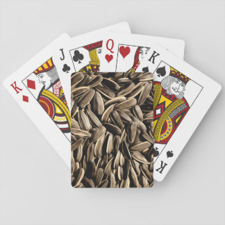 Sunflower Seeds Cool Fun Playing Cards
