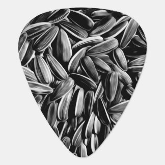 Sunflower Seeds Cool Funny Plectrum