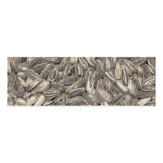 Sunflower Seeds Pack Of Skinny Business Cards