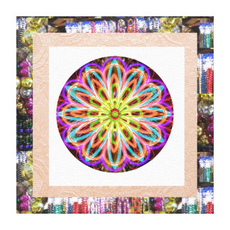 SUNFLOWER Sparkle : Motivational Inspirational Art Stretched Canvas Print