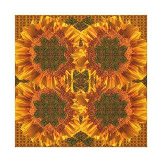 Sunflower Spirit Aesthetics Fine Art, Canvas Print