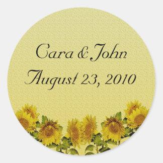 Sunflower Stickers