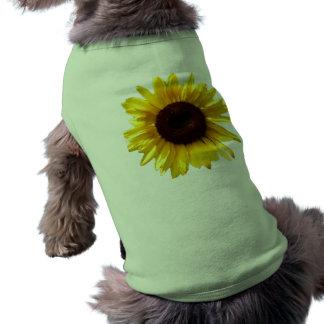 Sunflower Suit Sleeveless Dog Shirt