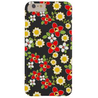 Sunflower Summer Flower Pattern Barely There iPhone 6 Plus Case
