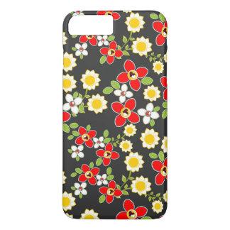 Sunflower Summer Flower Pattern iPhone 7 Plus Case
