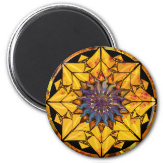 Sunflower Sun Magnet