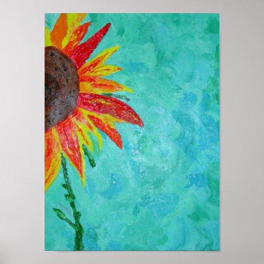 Sunflower Surprise Poster