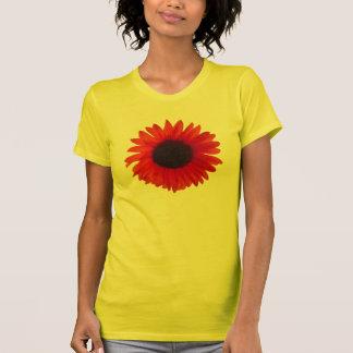 Sunflower T-Shirt (Women's and Men's) (Orange)