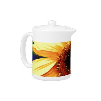 Sunflower Tea Pot