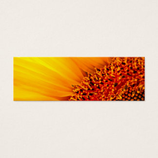 Sunflower Thank You Bookmark & Emerson Quote Mini Business Card