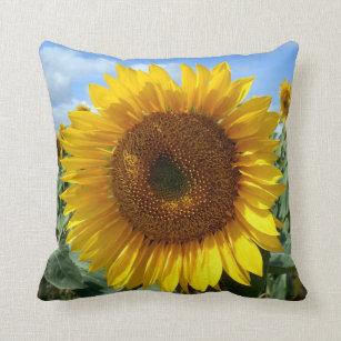 Sunflower Throw Cushion
