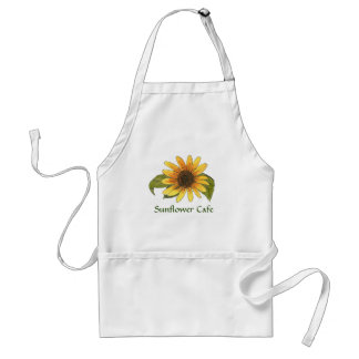 Sunflower to Personalize or Customize Standard Apron