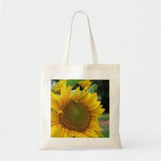 Sunflower Budget Tote Bag