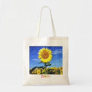 Sunflower totobatsugu budget tote bag