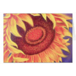 Sunflower Tropical Flower Painting - Multi Greeting Card