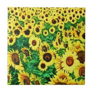 Sunflower two tile
