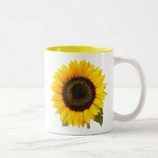 Sunflower Two-Tone Mug