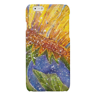 Sunflower watercolor cover for phone iPhone 6 plus case