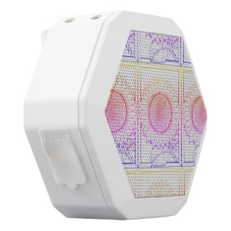 Sunflower White Bluetooth Speaker