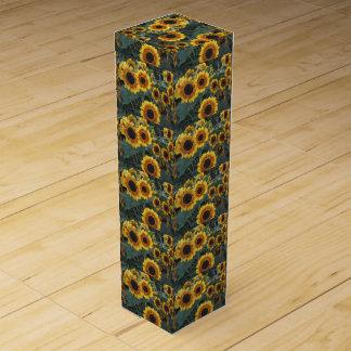 sunflower wine box
