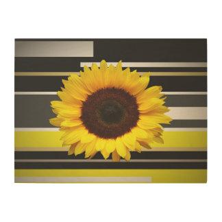 Sunflower Wood Wall Decor