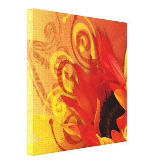 Sunflower - Wrapped Canvas