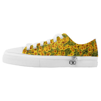 Sunflower Yellow Low Tops
