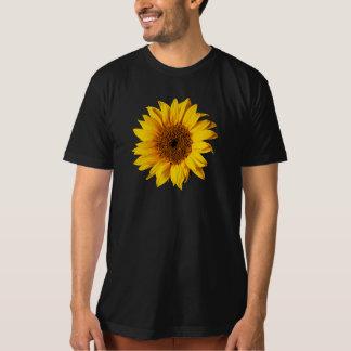 Sunflower Yellow on Black - Customized Sun Flowers Shirt