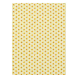 Sunflower Yellow Tan Table Clothe Tablecloth