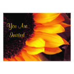 Sunflower You Are Invited Invitation Cards