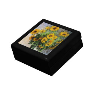 Sunflowers, 1881 by Monet. Gift Box