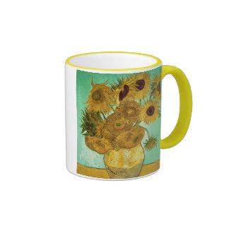 Sunflowers, 1888 2 ringer mug