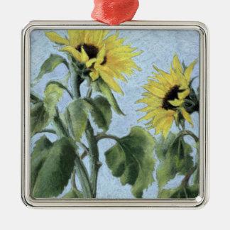 Sunflowers 1996 christmas ornament