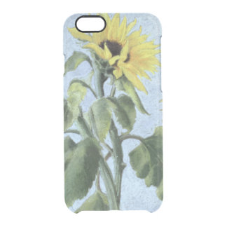 Sunflowers 1996 clear iPhone 6/6S case