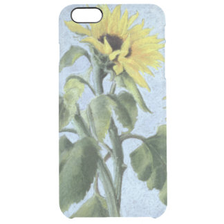 Sunflowers 1996 clear iPhone 6 plus case