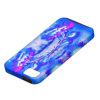 """""""Sunflowers"""" Abstract Psychedelic Art iPhone Case"""