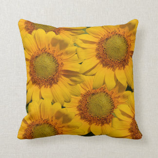 Sunflowers American MoJo Pillow