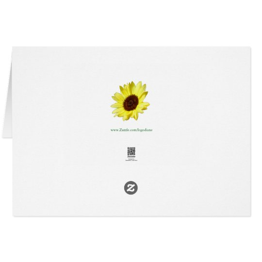 Sunflowers and Asters MARGIE Card