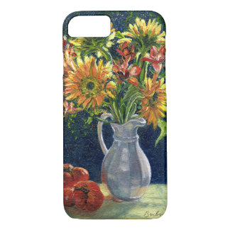 """""""Sunflowers And Tomatoes"""" Phone Case"""